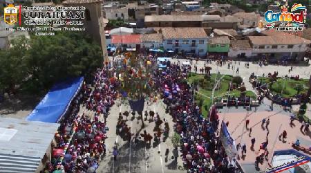 !! CARNAVAL DE CURAHUASI, VISTO DESDE NUESTRO CIELO AZUL...!!!