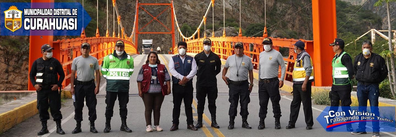AUTORIDADES DISPONEN CIERRE ABSOLUTO DE CUNYAC FRONTERA ENTRE CUSCO Y APURÍMAC, PARA EVITAR LA PROPAGACIÓN DEL COVID-19