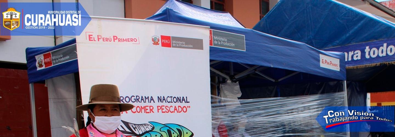 FAMILIAS DE ESCASOS RECURSOS ECONÓMICOS SE BENEFICIARON CON PESCADO Y CONSERVAS A PRECIOS BAJOS